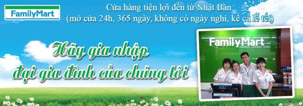 Công ty TNHH Cửa Hàng Tiện Lợi Gia Đình Việt Nam (FamilyMart)