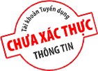 Tài khoản chưa xác thực